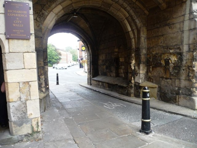 Cycleway at Monk Bar, York