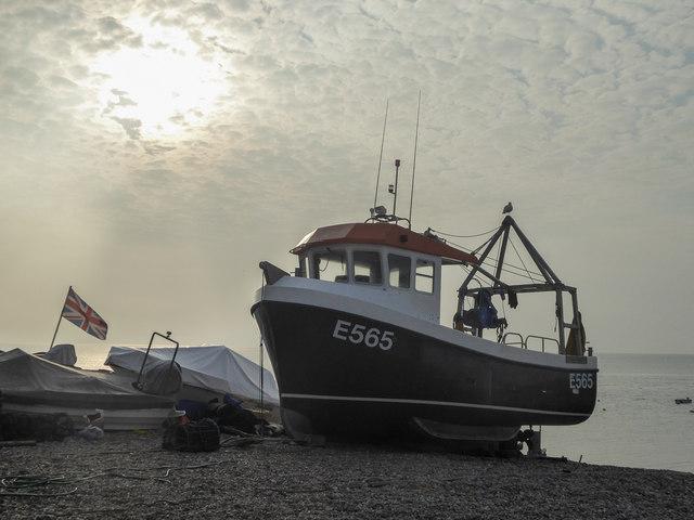 Fishing Boat, Beer, Devon