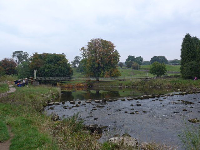 Dales Way trek from Bolton Abbey to Pinder Stile (117)