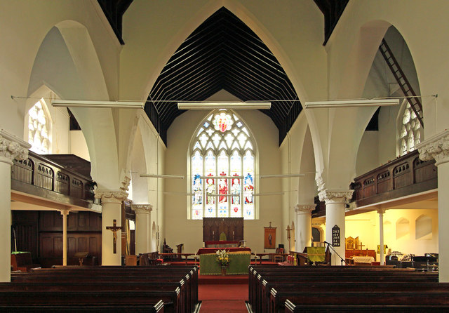 All Saints, Haggerston - East end
