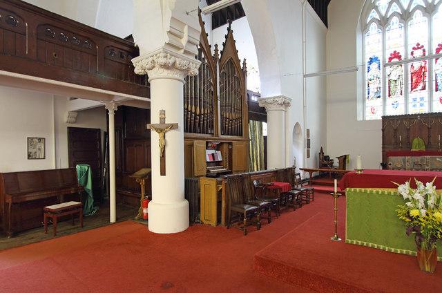 All Saints, Haggerston - Organ