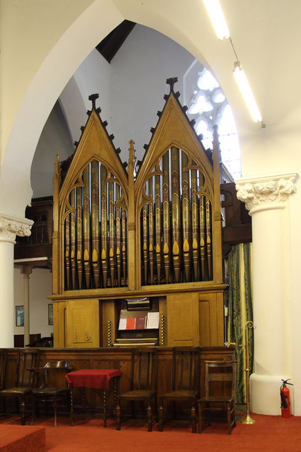 All Saints, Haggerston - Organ