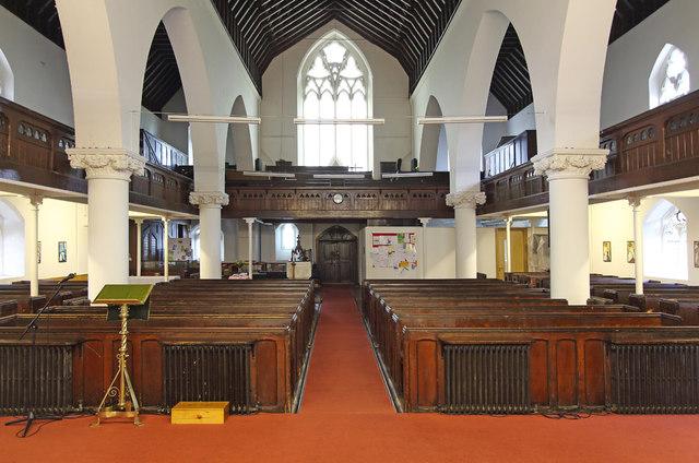 All Saints, Haggerston - West end