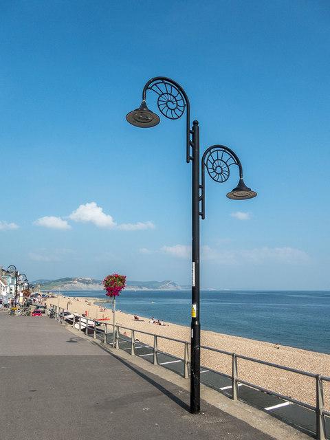 Lamp Standards, Lyme Regis, Dorset