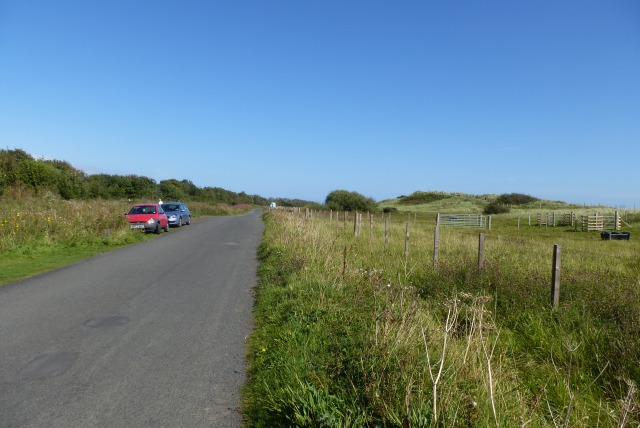 Road near Druridge Bay Country Park