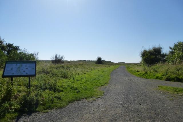 East Chevington Nature Reserve entrance