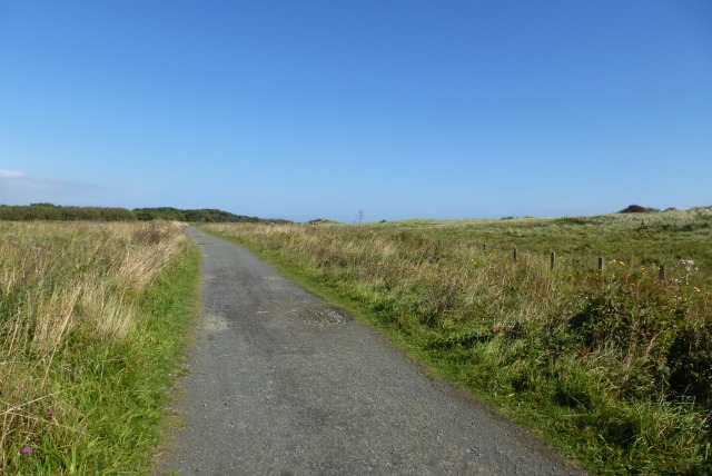 Path across the reserve