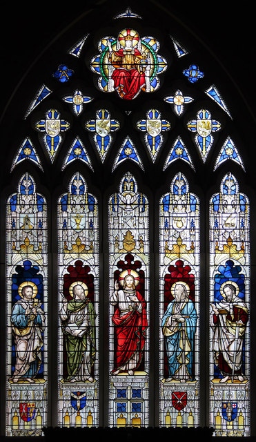 All Saints, Haggerston - Stained glass window