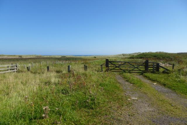 Gate near Chibburn Mouth