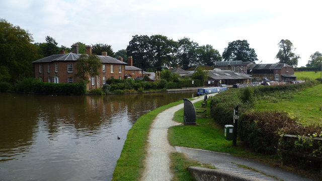 The canal near Ellesmere
