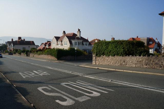 Houses on Colwyn Road, Llandudno