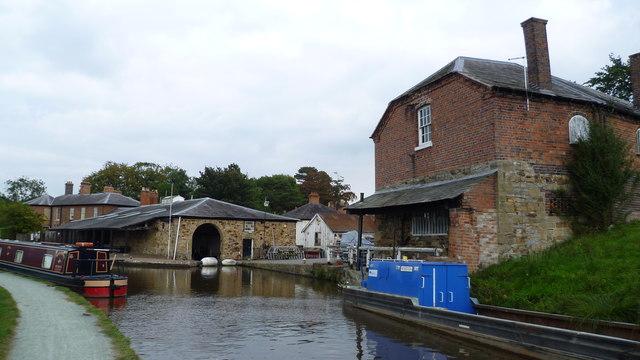 Canalside workshops near Ellesmere