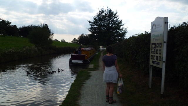 Canal towpath near Ellesmere