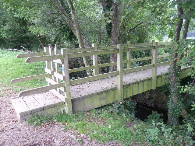 Bridge across the county boundary