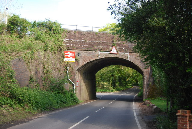 Railway Bridge, Ockley Station