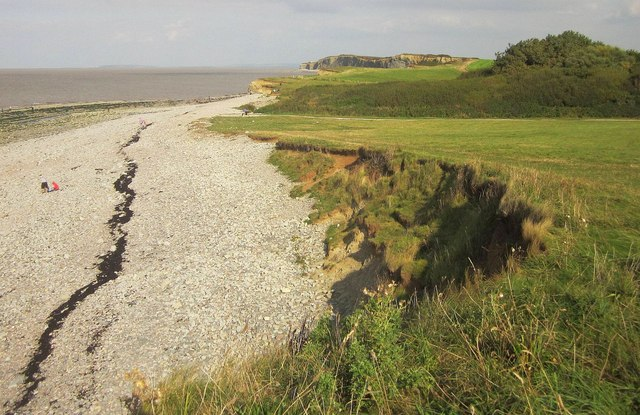 Coast at Kilve Pill