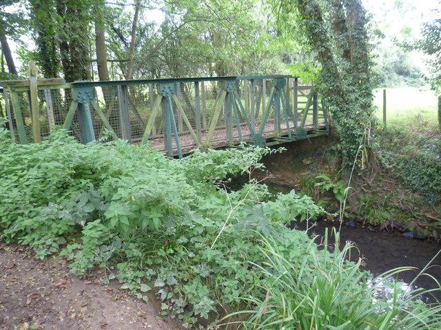Bridge over the Kent Water between East Sussex and Kent