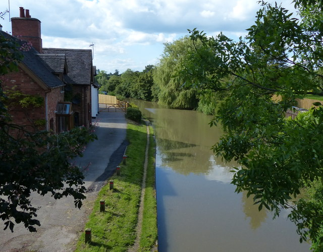 The Oxford Canal in Ansty
