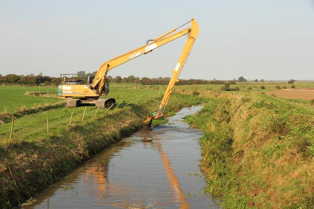Great Eau dredging