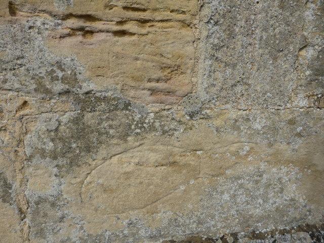 St. Peter ad Vincula Carved Footprint