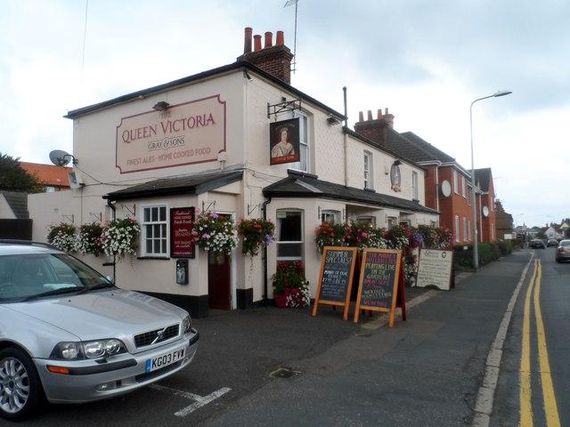 Queen Victoria pub, Maldon