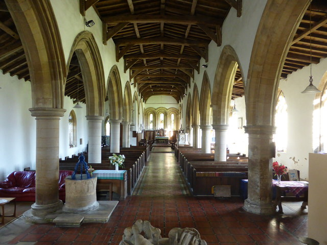 St. Peter ad Vincula, The Aisle and Chancel