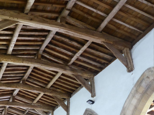 St. Peter ad Vincula, Medieval roof