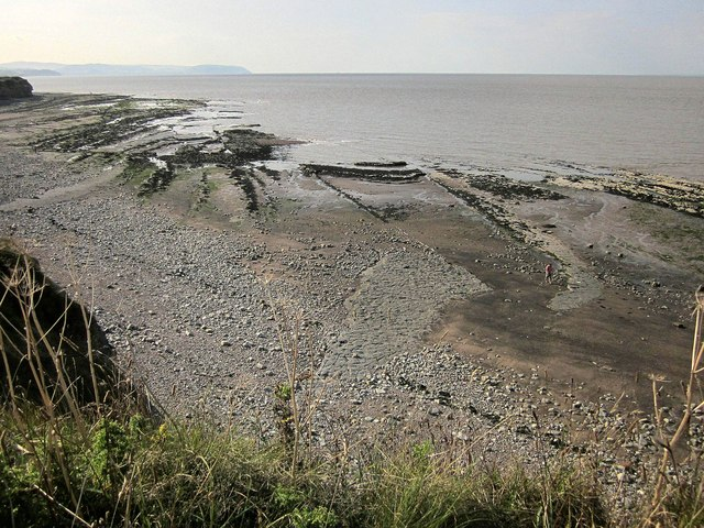 Wave-cut platform, Kilve