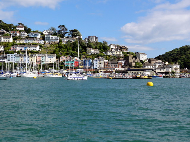 Kingswear from The River