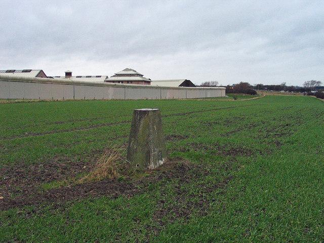 Trig point of Holme House Farm