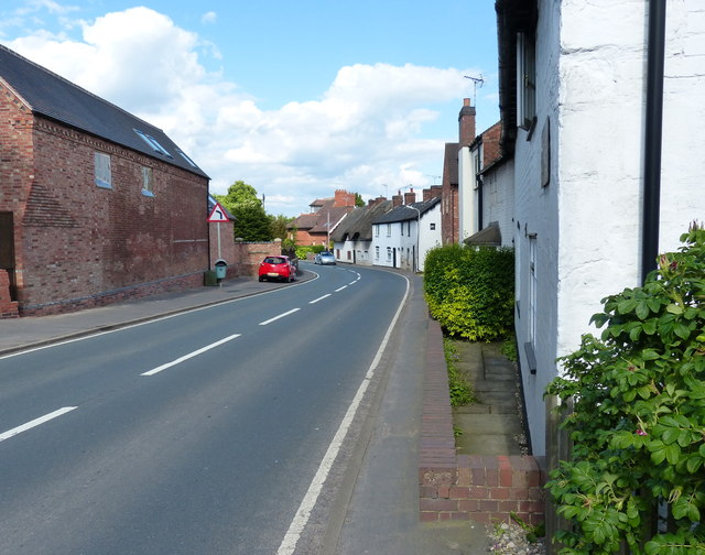 The Main Road in Ansty