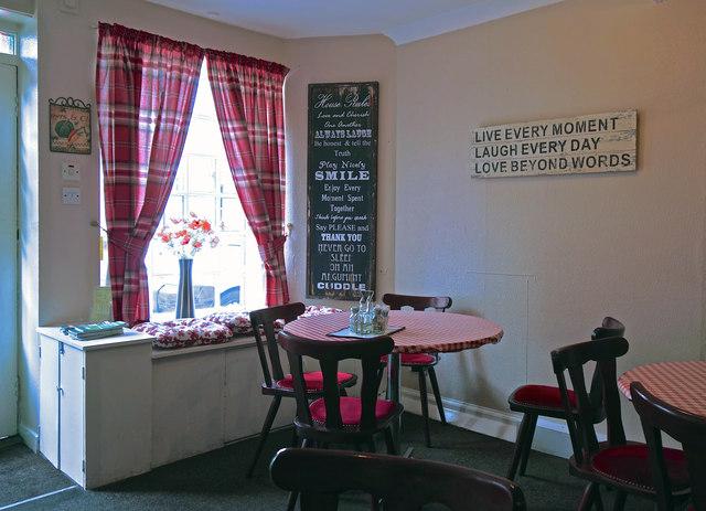 A café with Heart