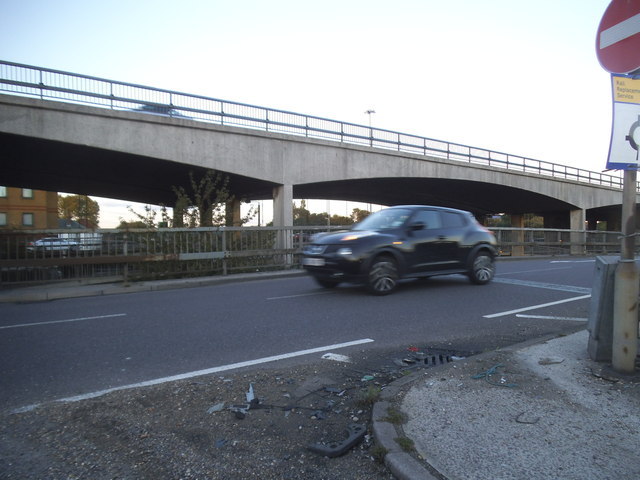 Brent Cross Flyover, Hendon