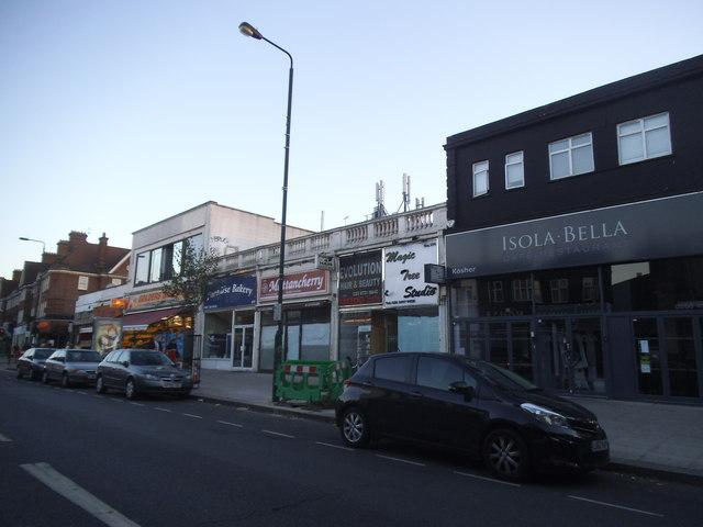 Shops on Golders Green Road