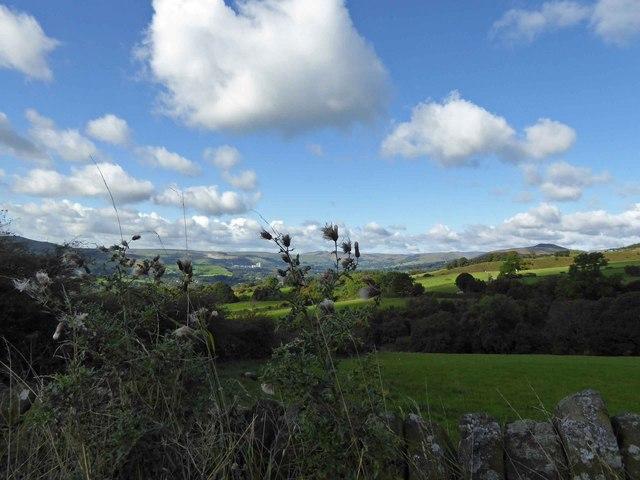 Hope Valley Peak District vista