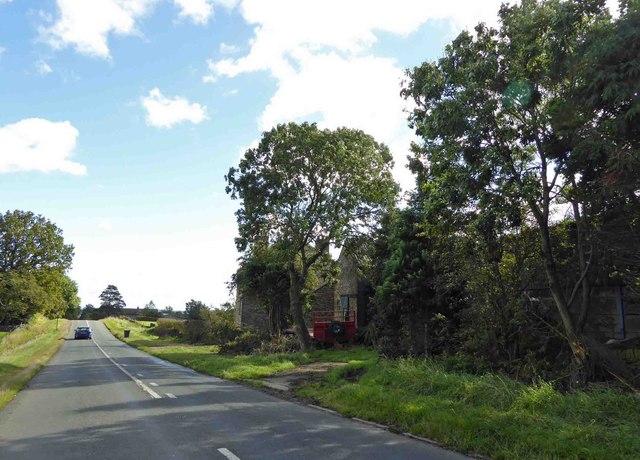 Firs Farm alongside Ringinglow Road