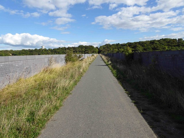 Conibrough Viaduct trail