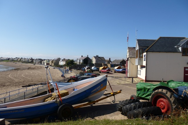 Boats at Newbiggin