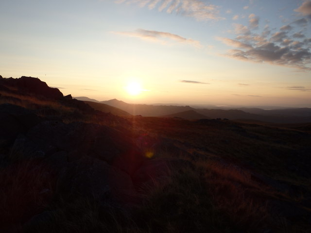 Sunrise, Stainton Pike