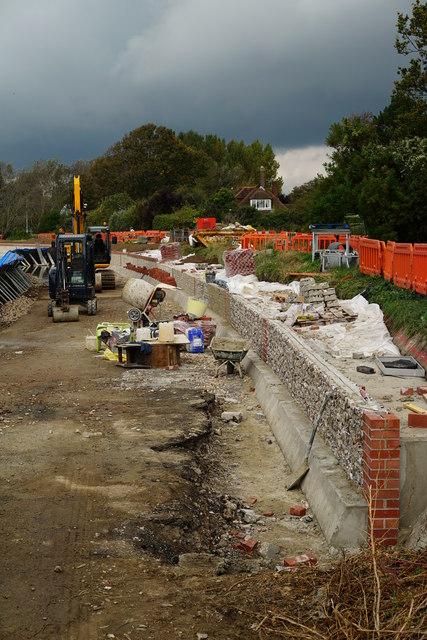 Flood Defences, Bosham Harbour