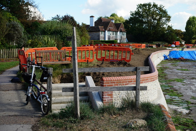 Flood Defences, Bosham Harbour