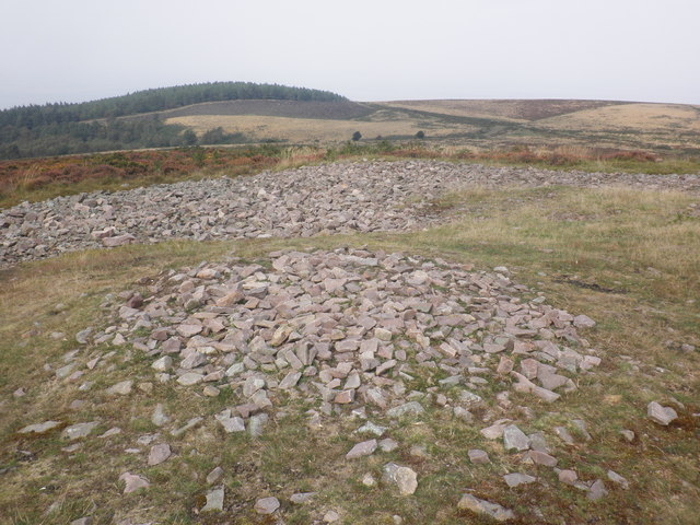 Stone circle on Beacon Hill