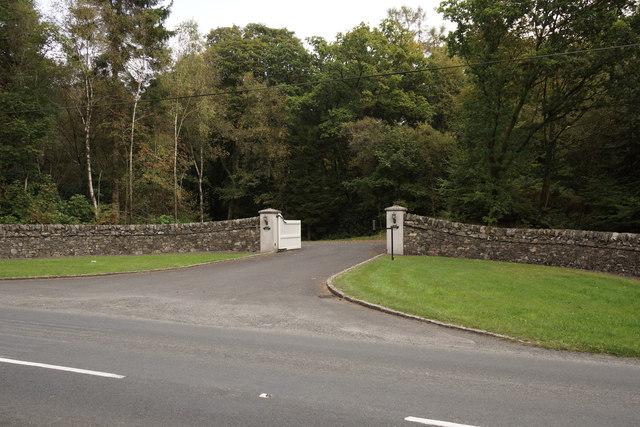 East Lodge entrance