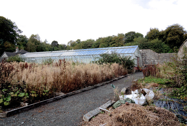 Walled garden and glasshouses