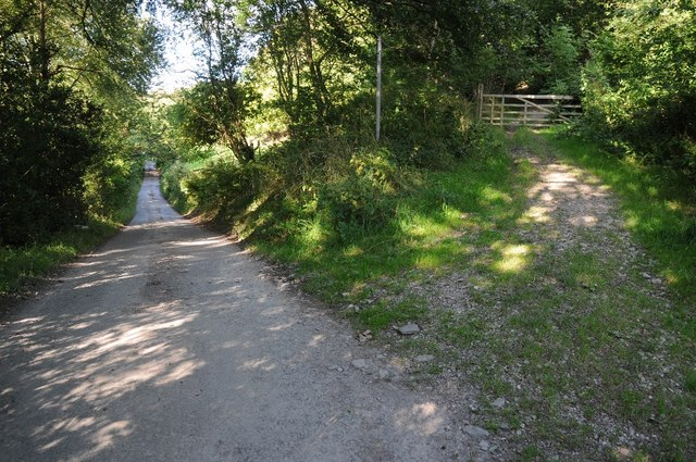Country road and byway