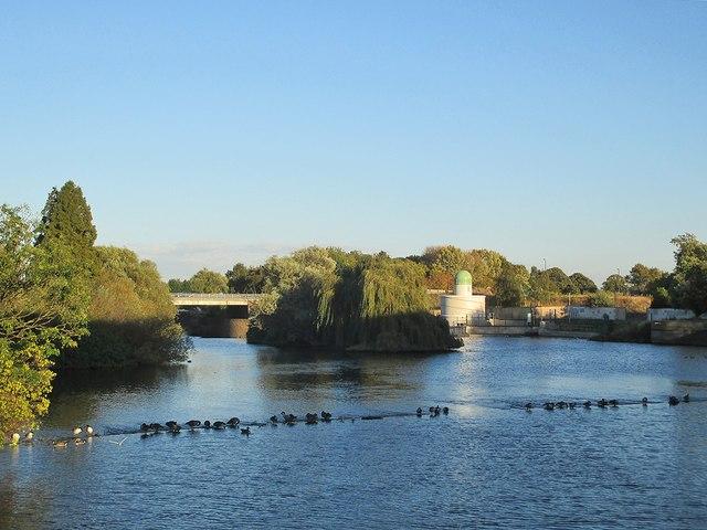 The Derwent from Exeter Bridge