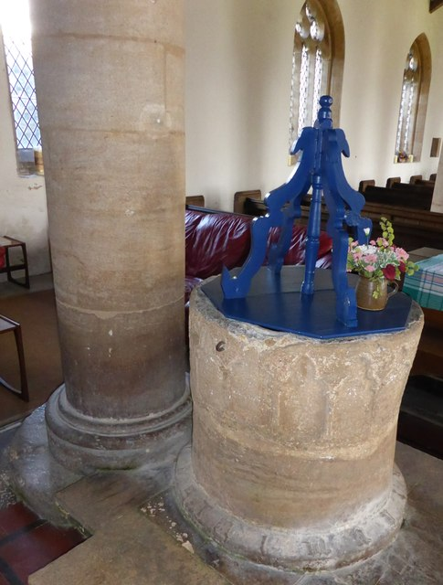 St. Peter ad Vincula, Font and cover