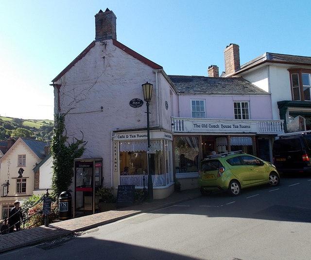The Old Coach House Tea Rooms in Lynton