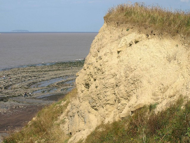 Cliff near Kilve