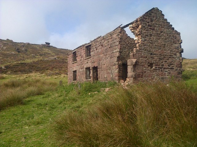 Ruin on The Roaches
